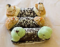 Mint chocolate chip cannolo, peanut butter cup cannolo, smores cannolo, Stuffed Artisan Cannolis.jpg