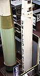 Minuteman III missile - Scout-D rocket - Smithsonian Air and Space Museum - 2012-05-15 (7246252390).jpg