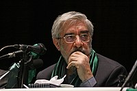 Mir Hossein Mousavi in Zanjan by Mardetanha1.jpg