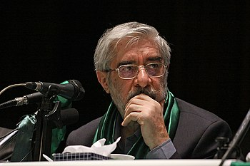 Mir-Hossein Mousavi, last Prime Minister of Iran from 1981 to 1989, current leader of Iranian opposition . - List of Azerbaijanis