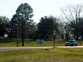Mississippi Highway 22 - Mississippi 22 in Flora just west of the US 49 junction