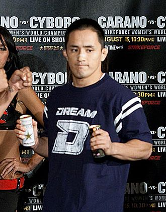 Mitsuhiro Ishida - Mitsuhiro Ishida in 2009, at the weigh-in before the Strikeforce: Carano vs. Cyborg event.