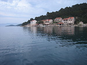 Mljet - Seaside of Pomena