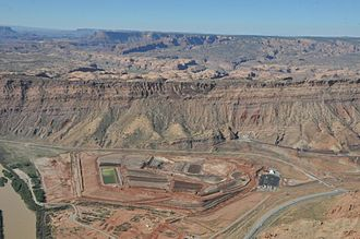 Nuclear ethics - Moab uranium mill tailings pile
