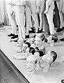 Modepoppen van de fa. Imans met diverse koppen van beroemdheden, waaronder Mauri, Bestanddeelnr 252-1154.jpg