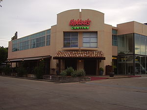 History of Mexican Americans in Houston - Molina's Cantina in Southside Place: Molina's was established by Raul Molina