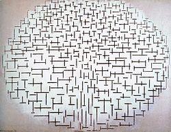 Piet Mondrian: Composition No.10 (Pier and Ocean)