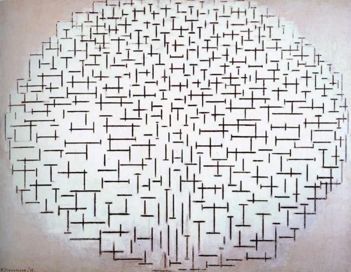 Mondrian Compositie 10