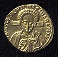 Monete d'oro di giustiniano II e tiberio IV, 705-711, 06, 2.jpg