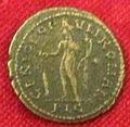 Monetiere di fi, moneta romana imperiale da zecca di lugdunum.JPG