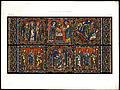 Monografie de la Cathedrale de Chartres - Atlas - Vitrail de la vie de Jesus Christ Feuille B - Chromo-lithographie.jpg