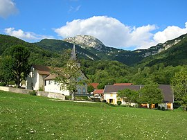 The village of Mont-Saint-Martin