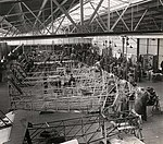 Montagehal van de Koolhoven Vliegtuigenfabriek, 1939.jpg