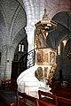 Montagnac eglise St-Andre chaire.jpg