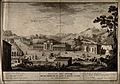 Montecatina Terme, Tuscany, Italy. Etching by C. Zocchi afte Wellcome V0014742.jpg