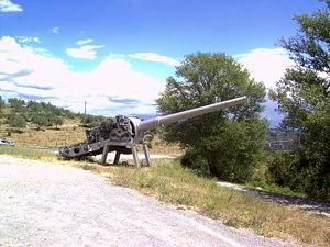 152 mm /53 Italian naval gun Models 1926 and 1929 - Image: Montecuccoli guns 1