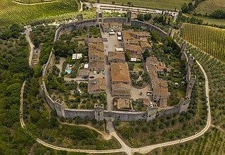 Monteriggioni Comune in Tuscany, Italy