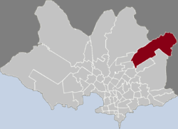 Location of Villa García - Manga Rural in Montevideo