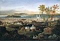Montréal vu du mont Royal - 1853-54.JPG