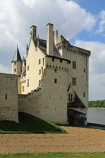 Montsoreau (département Maine-et-Loire, France): the castle