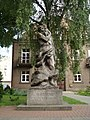 Monument of Saint Christopher in Vilnius.jpg