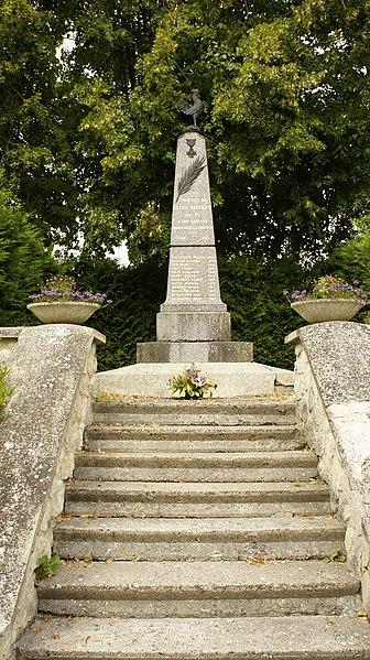 Monument aux morts de Saint-Souplet-sur-Py.