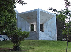Spanish Constitution of 1978 - Monument to the Constitution of 1978 in Madrid
