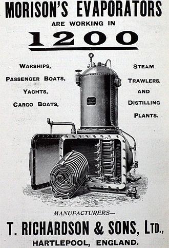 Evaporator - Image: Morison's evaporator 00