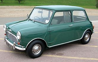 Automotive industry in the United Kingdom - 1967 Mini (introduced 1959)