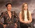 Mortal Engines cast Jihae and Hera Hilmar.jpg