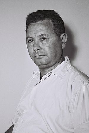 Moshe Carmel - Image: Moshe Carmel 1955