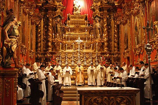 Mosteiro sao bento natal 2009 missa galo