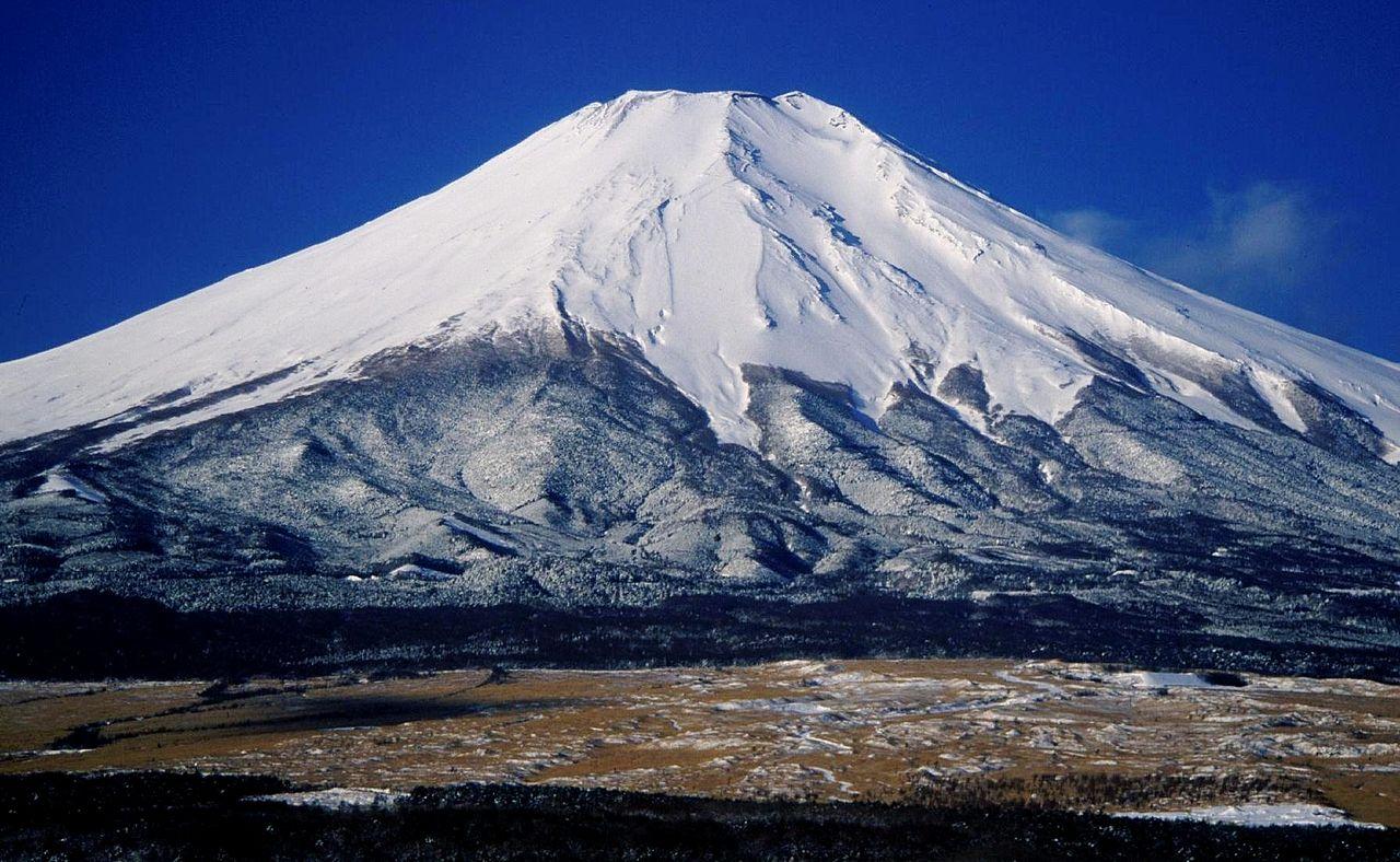 Mount Fuji In Running Shoes