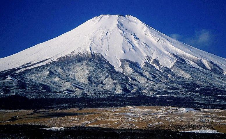 Mount Fuji from Hotel Mt Fuji 1995-2-7