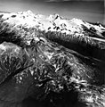 Mount Katmai, mountain glaciers in the background, August 26, 1969 (GLACIERS 7031).jpg
