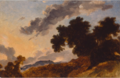 Mountain landscape at sunset.PNG