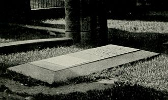 "Jane Welsh Carlyle - ""Mrs. Carlyle's Grave in Haddington Church."""