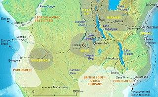 Yeke Kingdom Former kingdom of the Garanganze people in Katanga, DR Congo