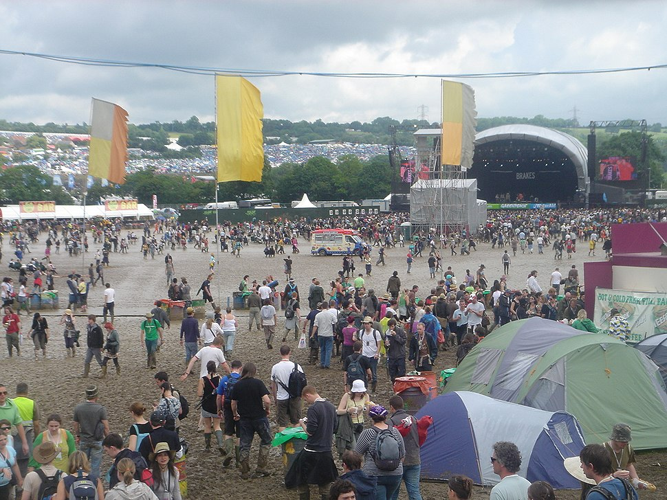 Mud at Glasto 2007