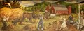 """Mural """"Haying"""" by Philip Von Saltza, located in Federal Building, St. Albans, Vermont LCCN2013634458.tif"""