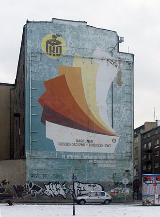https://upload.wikimedia.org/wikipedia/commons/thumb/f/f6/Mural_in_Gdynia._Unremembered_advertisement_of_PKO_Bank_Polski.jpg/330px-Mural_in_Gdynia._Unremembered_advertisement_of_PKO_Bank_Polski.jpg