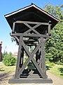 Murzynowo Kościelne, kościół św. Jana Chrzciciela, dzwonnica, widok od wsch..JPG
