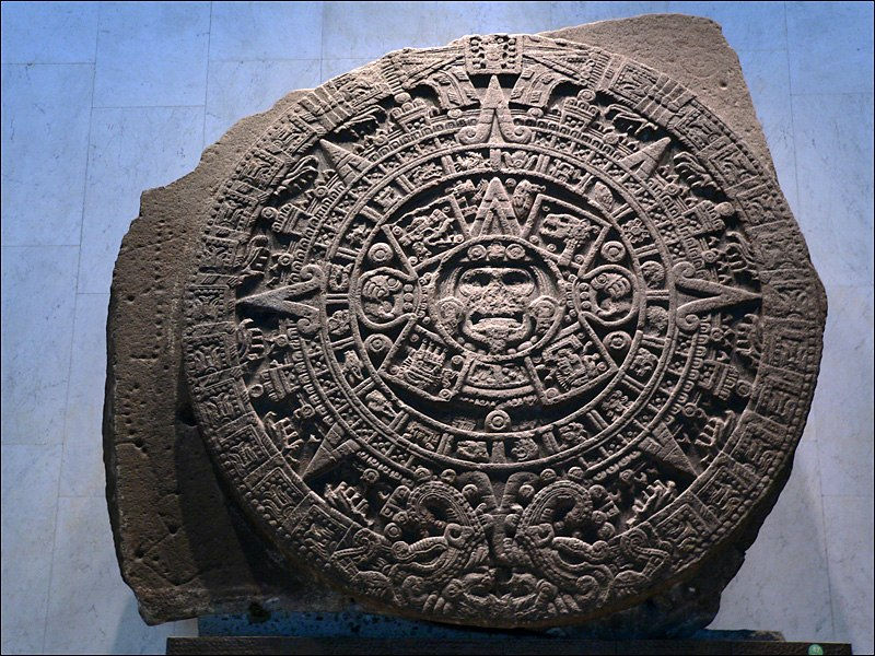 Musee National Anthropologie-Calendrier Aztec