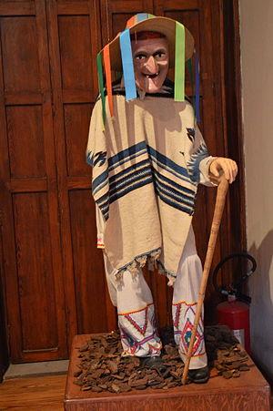 Danza de los Viejitos - Image: Museo Mascara SLP06