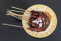Mutton satay from H. Faqih, Jombang, 2017-09-19 02.jpg