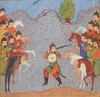 Baydu - Negotiations between the forces of Baydu and Ghazan.
