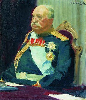 Nikolay Pavlovich Ignatyev - N. P. Ignatyev, by Boris Kustodiev (State Tretyakov Gallery, Moscow)