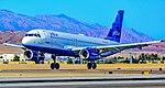 """N605JB JetBlue Airways Airbus A320-232 s n 2368 """"Blue Yorker"""" (29136709288).jpg"""