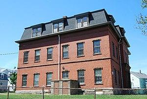N. B. Borden School - Image: NB Borden School FR
