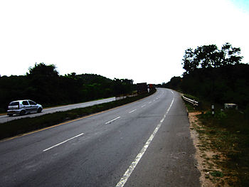 English: Typical Indian National Highway.